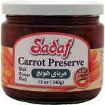 Sadaf Carrot Preserve with Orange Peels 12×12 oz.