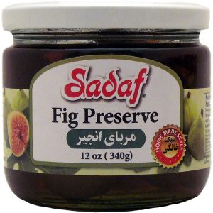 Sadaf Fig Preserve 12×12 oz.