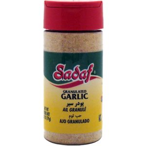 Sadaf Garlic Granulated 12X2.80 oz.