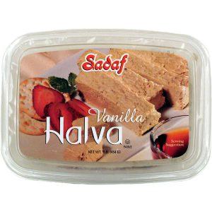 Sadaf Halva Vanilla 12×16 oz.