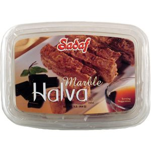 Sadaf Chocolate Marble Halva 12×16 oz.