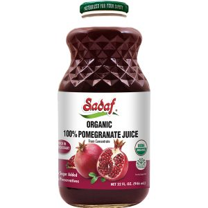 Sadaf Organic Pomegranate Juice 12×32 oz.