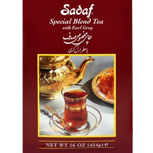 Sadaf Special Blend Tea with Earl Grey 24×8 oz.