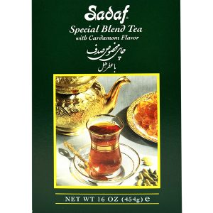 Sadaf Special Blend Tea with Cardamom 24×16 oz.