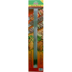 Sadaf BBQ Skewers Narrow – No Handle – Set of 6