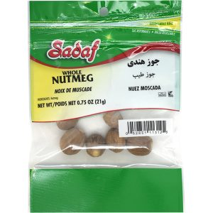 Sadaf Nutmeg Whole 12×0.75 oz.