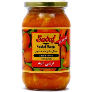 Sadaf Pickled Mango – Anbeh Torshi 12×14.8 oz.