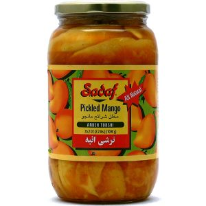 Sadaf Pickled Mango – Anbeh Torshi 6×35.2 oz.