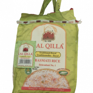 Lal Qilla Traditional Royal Basmati Rice 10 lb