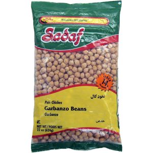 Sadaf Garbanzo Beans 24×22 oz.