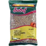 Sadaf Green Lentils 24×24 oz.