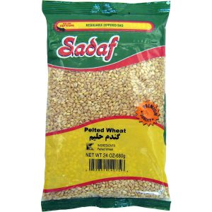 Sadaf Pelted Wheat 24×24 oz.