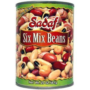 Six Mix Beans 20 oz.