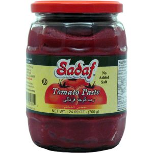 Tomato Paste Jar – No Salt Added 24.7 oz.