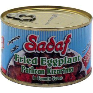 Sadaf Fried Eggplant in Tomato Sauce – 12×14 oz.
