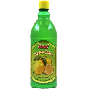 Sadaf Lemon Juice from Concentrate 12×32 oz.