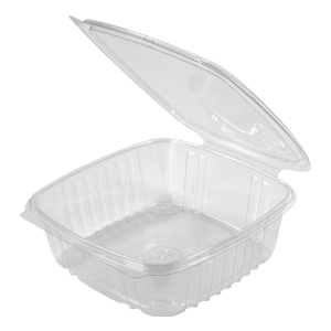 Clear Hinged Take-Out Container, AD48 – 50/CASE