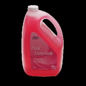 Zaal Pink Foam Soap 4L