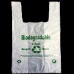 Bio EcoT-Shirt Bag 10″+6.5″x20″(M) 15mic 2000/cs