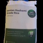 Iranian Hashemi Grade Rice, 10 LB