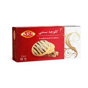 Traditional Cookie (Koloocheh), 4 Pieces, 100gr