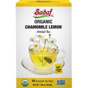Chamomile Lemon Tea Bags | Organic – 18 count